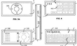 Apple files patent for two-sided iPod device