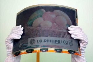 LG.Philips LCD announces flexible A4 colour E-paper