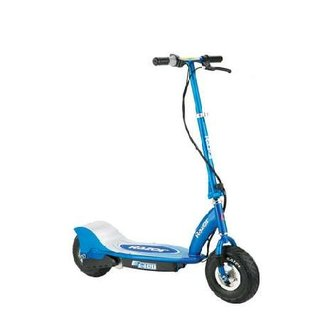Get going on the Razor E300 electric scooter