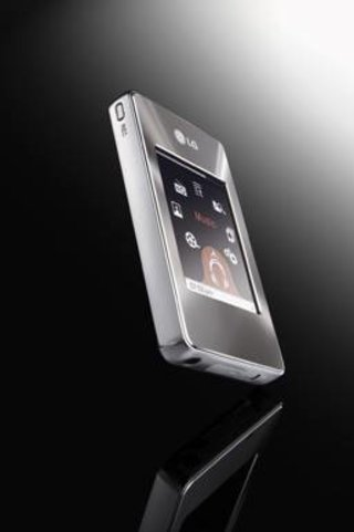 "LG gets all touchy-feely with the MFFM37 ""Touch me"" MP3 player"