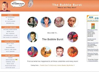 WEBSITE OF THE DAY - thebubbleburst.co.uk