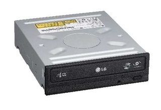 LG's world first DVD re-writer with SecurDisc technology