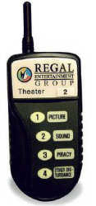 Regal Cinemas introduces pager alerts