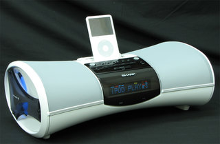 Sharp's DK-A1H and DK-A10H iPod docks