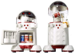 BeerBot stores and pours your brewskis