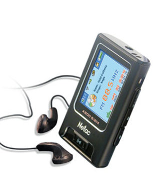 Netac MP3 player with built-in FM transmitter