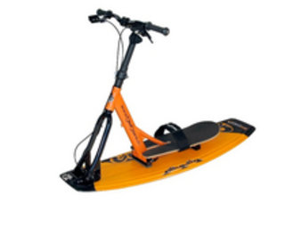 Bikeboard Water - a wakeboard with handlebars