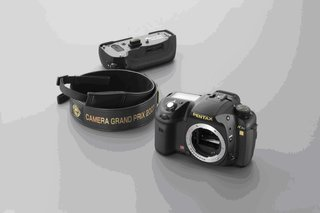 Pentax brings out limited edition, blinged up K10D