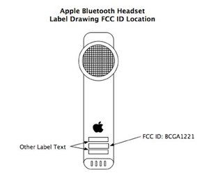 iPhone's matching Bluetooth headset gets FCC approval