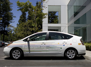 Google announces electric car funding and solar powered HQ