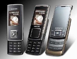 Samsung shows off SGH-E950, SGH-E840, SGH-J600 mobile phones