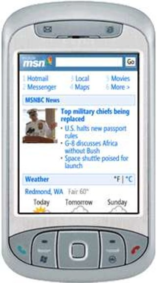 MSN and Yahoo both buck ideas up with mobile browsers