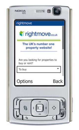 Rightmove's sat-tracking house hunt on your mobile