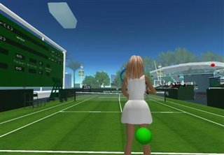 Wimbledon served up in Second Life