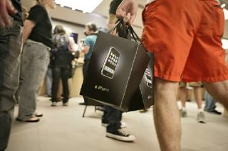 iPhone sales hit the magic one million mark?