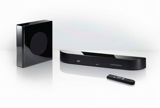 "Denon's ""plonk and play"" DHT-FS3 X-Space Surround Bar"