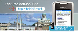 "dotMobi offers free ""City.mobi"" names"