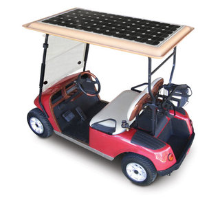 Kit converts your golf buggy to solar power