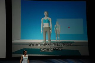 Nintendo demos Wii fit, moves Wii further away from trad gaming
