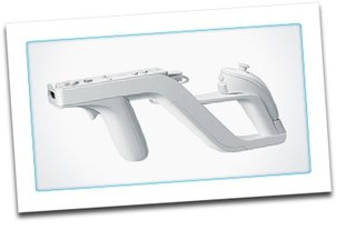 Nintendo Wii gets Wii Wheel and Wii Zapper