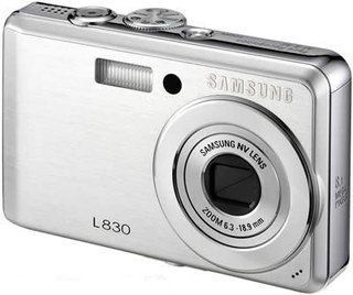 Samsung launches L730 and L830 compact digital cameras