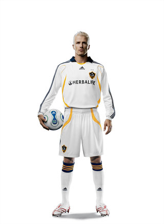 adidas and LA Galaxy show off Beckham kit