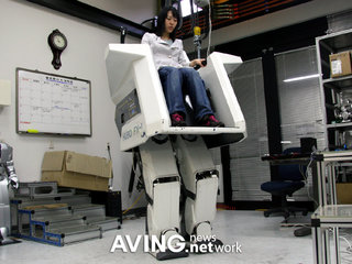 Korean Science and Tech Institute shows off giant robo-legs