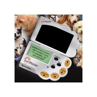 Pet Master - a PDA designed especially for pets