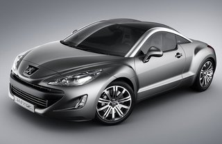Peugeot shows off new coupe concept