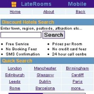 LateRooms.com, a hotel finding service for your mobile launches