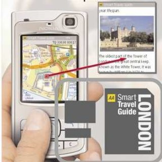 The AA launches Smart TravelGuides for mobile phones