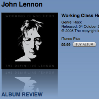 John Lennon's solo catalogue available DRM-free on iTunes
