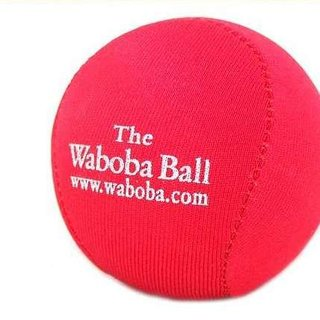 Waboba Ball bounces on water