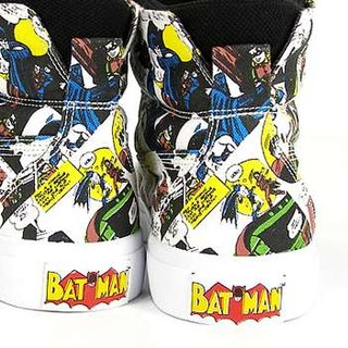 "Superhero shoes: Ubiq Fatima ""Batman"" sneakers"