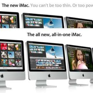 """Comment: Apple should not have changed """"You can't be too thin"""" tag-line for the iMac"""