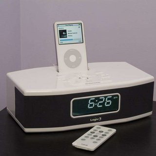 Logic3 launches i-Station Clock Dock for your iPod