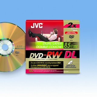 IFA 2007: JVC launches world's first single-sided dual layer DVD-RW disc