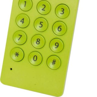 Maplin offers funky lime green USB VoIP handset