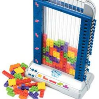 The secret love child of Connect 4 and Tetris...