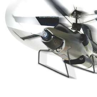 """Remote-controlled """"recon""""  helicopter digital video-cam"""