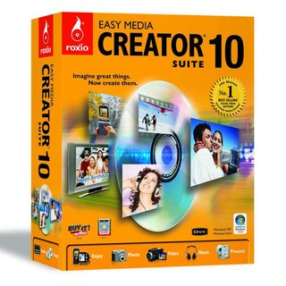 Roxio Easy Media Creator 10 now for Vista