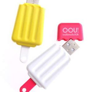USB ice lolly flash drives from Oou