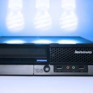 Lenovo ThinkCentre A61e solar-powered PC