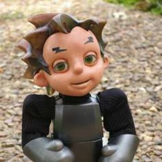 "Hanson Robotics debuts ""Zeno"" artificially intelligent robot child"