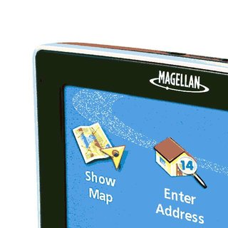 Magellan 4200 series - industry's thinnest GPS units