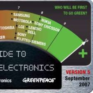 Greenpeace publishes latest Green Guide - Nokia is the greenest