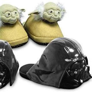 Feet the force: Star Wars slippers
