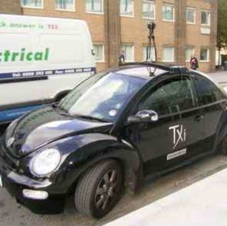 Google Street View cam-cars spotted in London