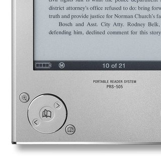 Sony Reader, second edition, launched in America