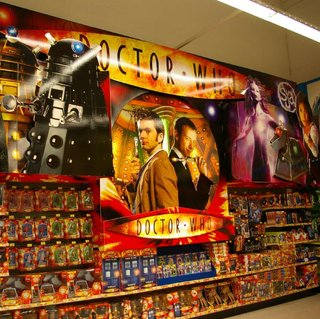 Toys R Us goes Doctor Who barmy